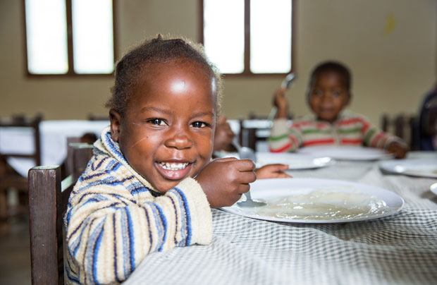 Apadrinhe uma criança em Moçambique